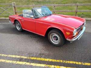 1974 Triumph TR6 for auction 29th/30th October