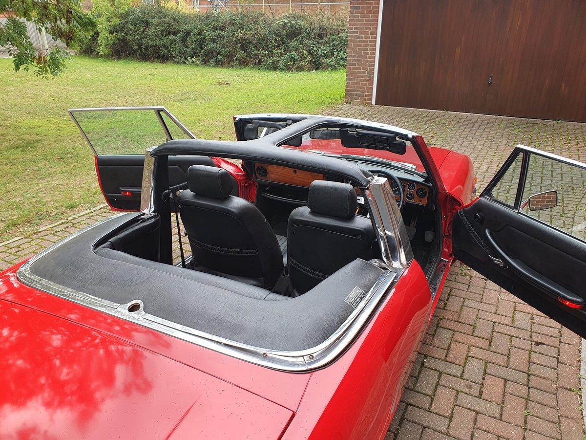 1974 Triumph Stag MK2 V8 3.0 Auto Red For Sale (picture 4 of 6)