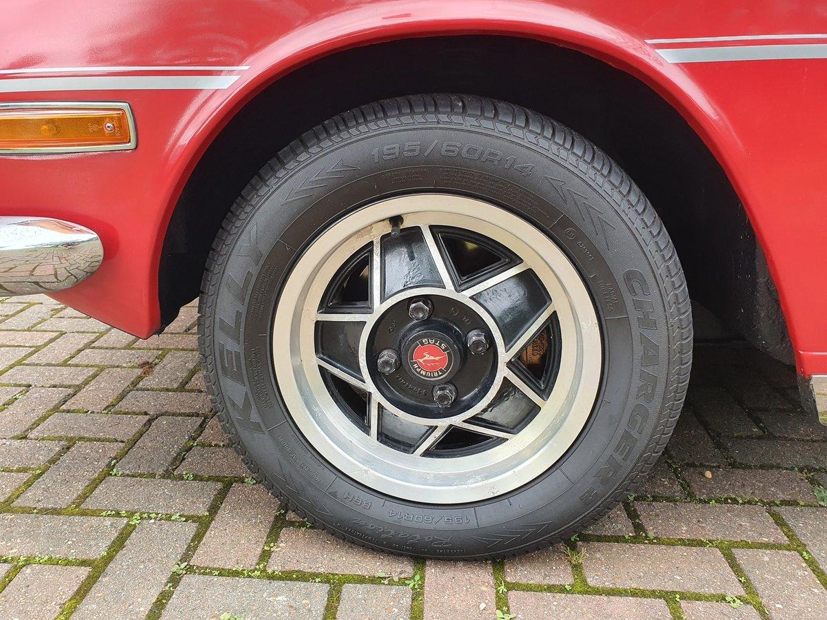 1974 Triumph Stag MK2 V8 3.0 Auto Red For Sale (picture 6 of 6)