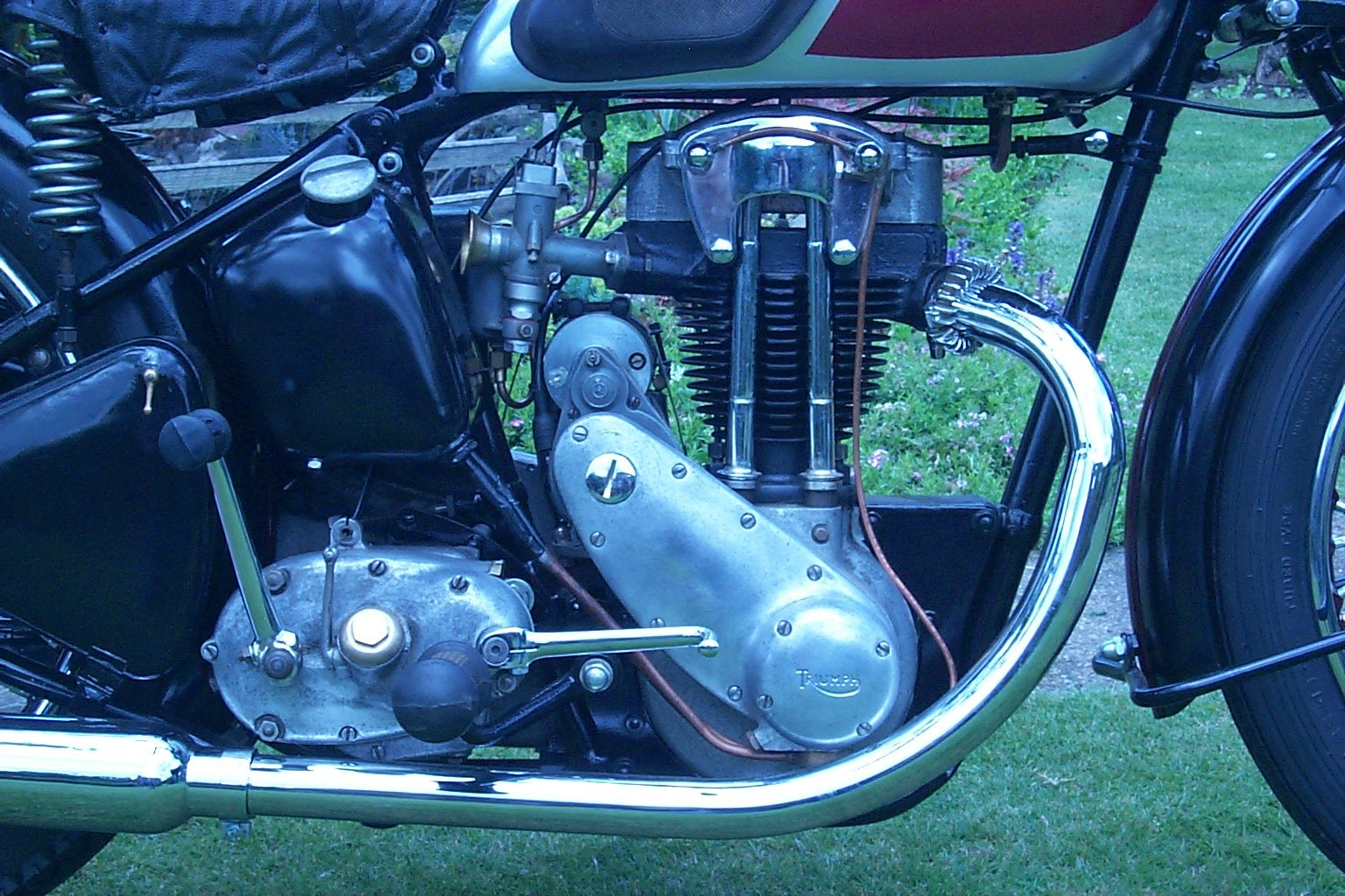 1938 Triumph 2H restored and ready to ride. For Sale (picture 4 of 5)