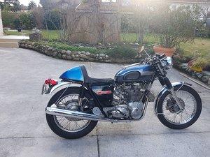 Picture of 1971 Triumph T150 P1 replica