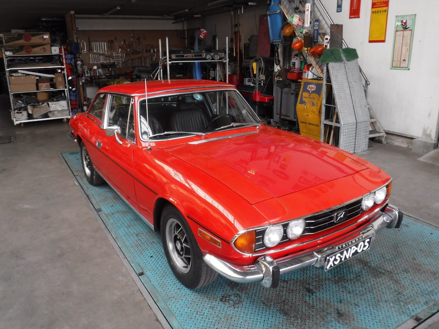 Triumh Stag V8 1973 For Sale (picture 1 of 6)