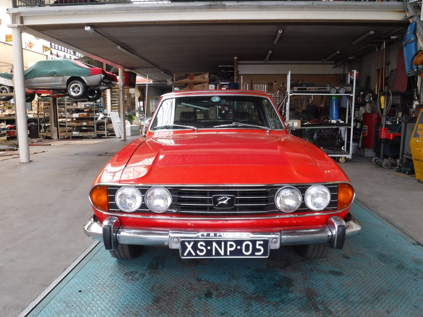 Triumh Stag V8 1973 For Sale (picture 2 of 6)