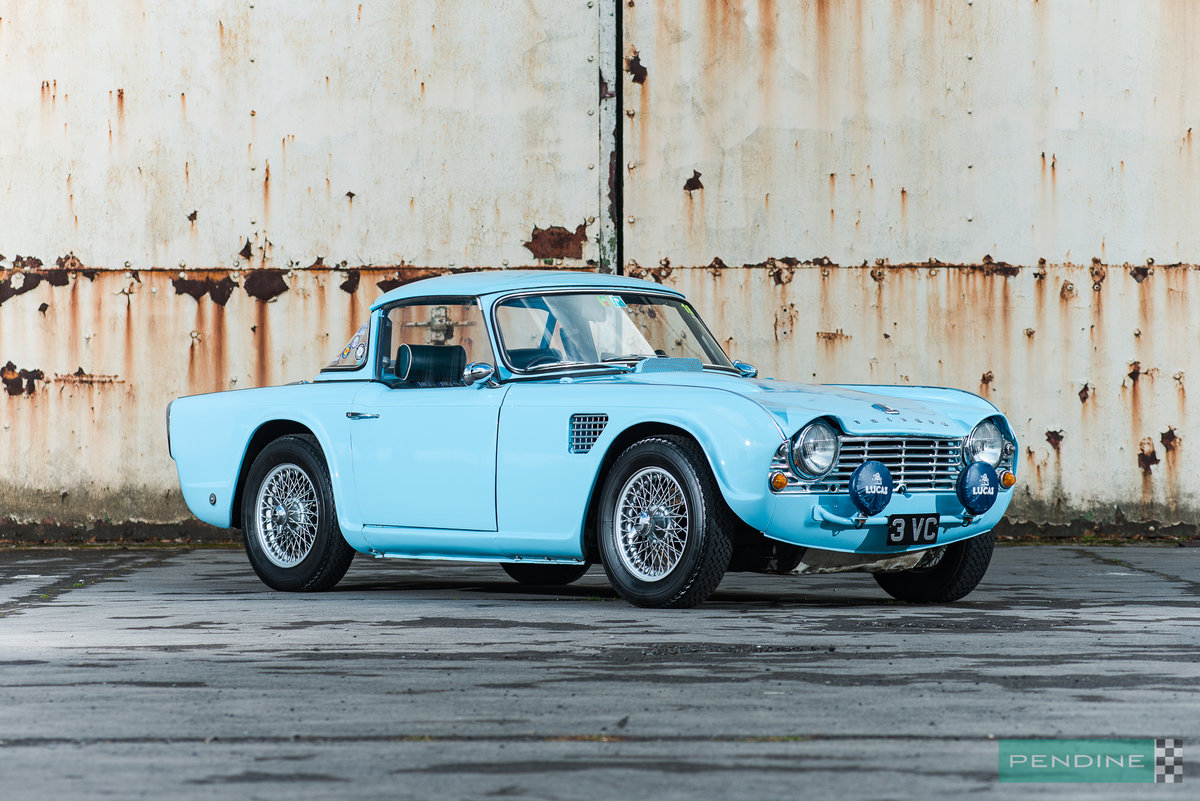 1962 Triumph TR4 Ex Works Rally Car For Sale (picture 2 of 6)
