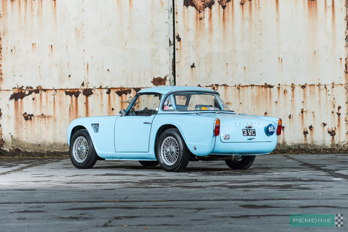1962 Triumph TR4 Ex Works Rally Car For Sale (picture 4 of 6)