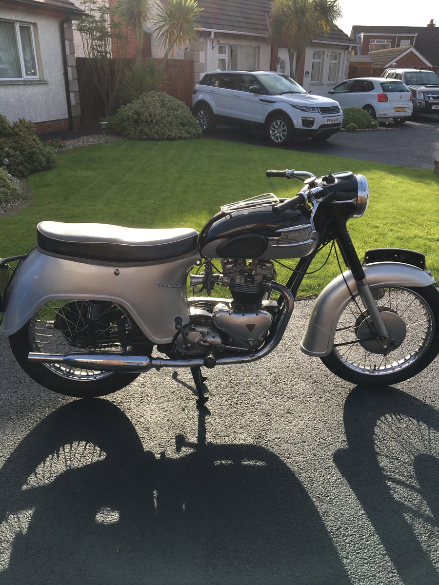 1961 Triumph thunderbird 6T For Sale (picture 4 of 6)
