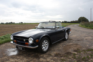 Picture of TR6 1971. ORIGINAL UK 150 BHP FUEL INJECTED CAR WITH OVERDRI SOLD