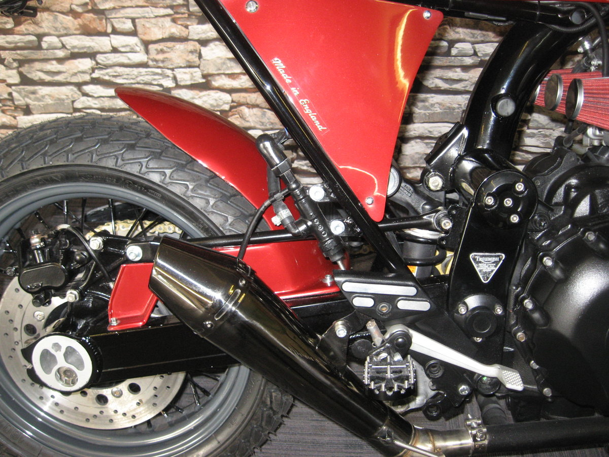1994 M-reg Triumph 900 Special finished in red metallic For Sale (picture 6 of 6)