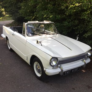 Picture of 1968 Lovely Triumph Herald 13/60 Convertible