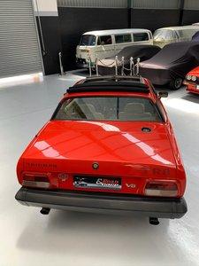 Rare 3.5 L Triumph TR8 RHD
