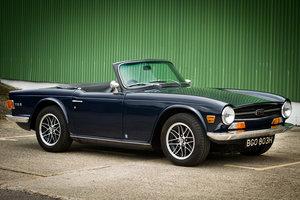 Royal Blue 1970 2.5l TR6