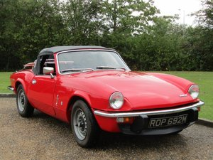 Picture of 1974 Triumph Spitfire MKIV at ACA 7th November  For Sale by Auction