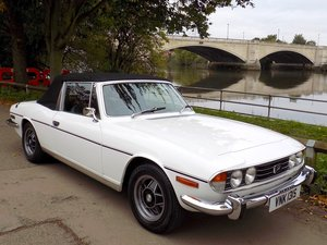 Triumph Stag Automatic - Restored - Only 62,760 Miles!