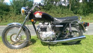 Classic British Motorcycle