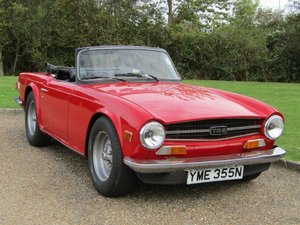 Picture of 1975 Triumph TR6 at ACA 7th November  For Sale by Auction