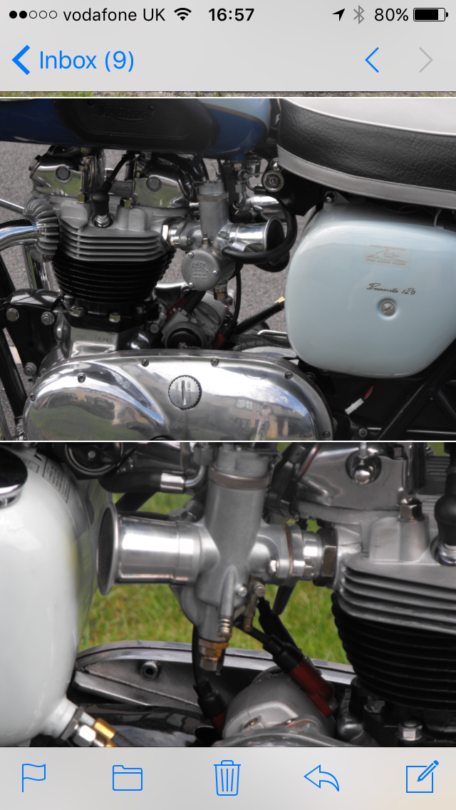 1960 Stunning Triumph T120 For Sale (picture 3 of 4)