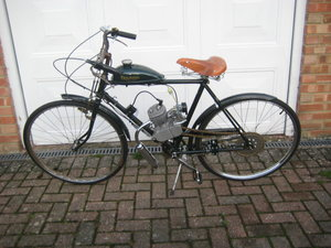 Triumph Motorised Bicycle