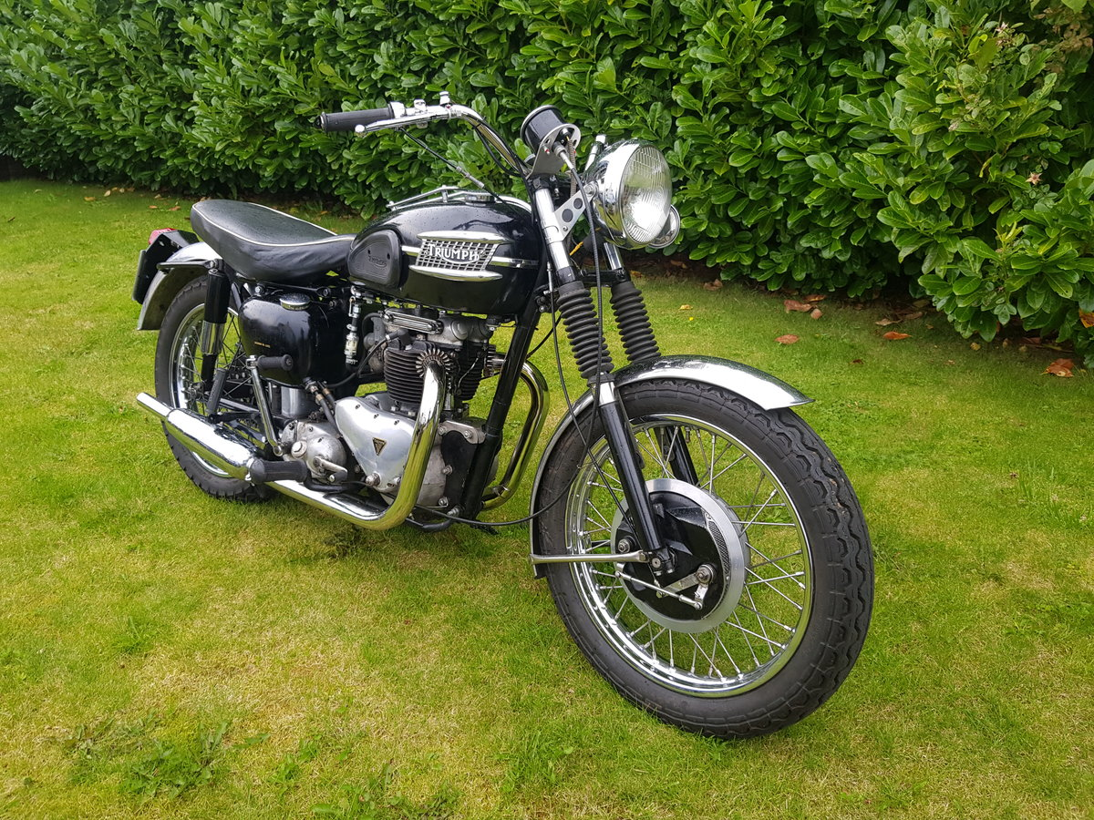 1957 Triumph 6T 650 Thunderbird  For Sale (picture 1 of 6)