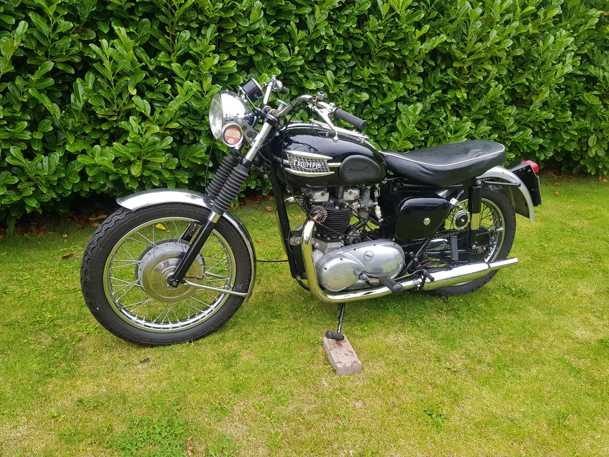 1957 Triumph 6T 650 Thunderbird  For Sale (picture 2 of 6)