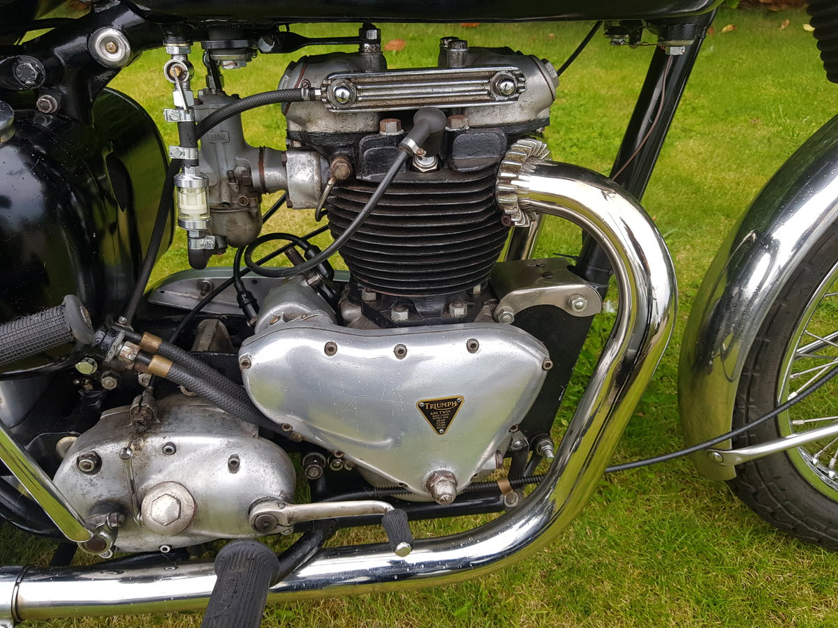 1957 Triumph 6T 650 Thunderbird  For Sale (picture 4 of 6)