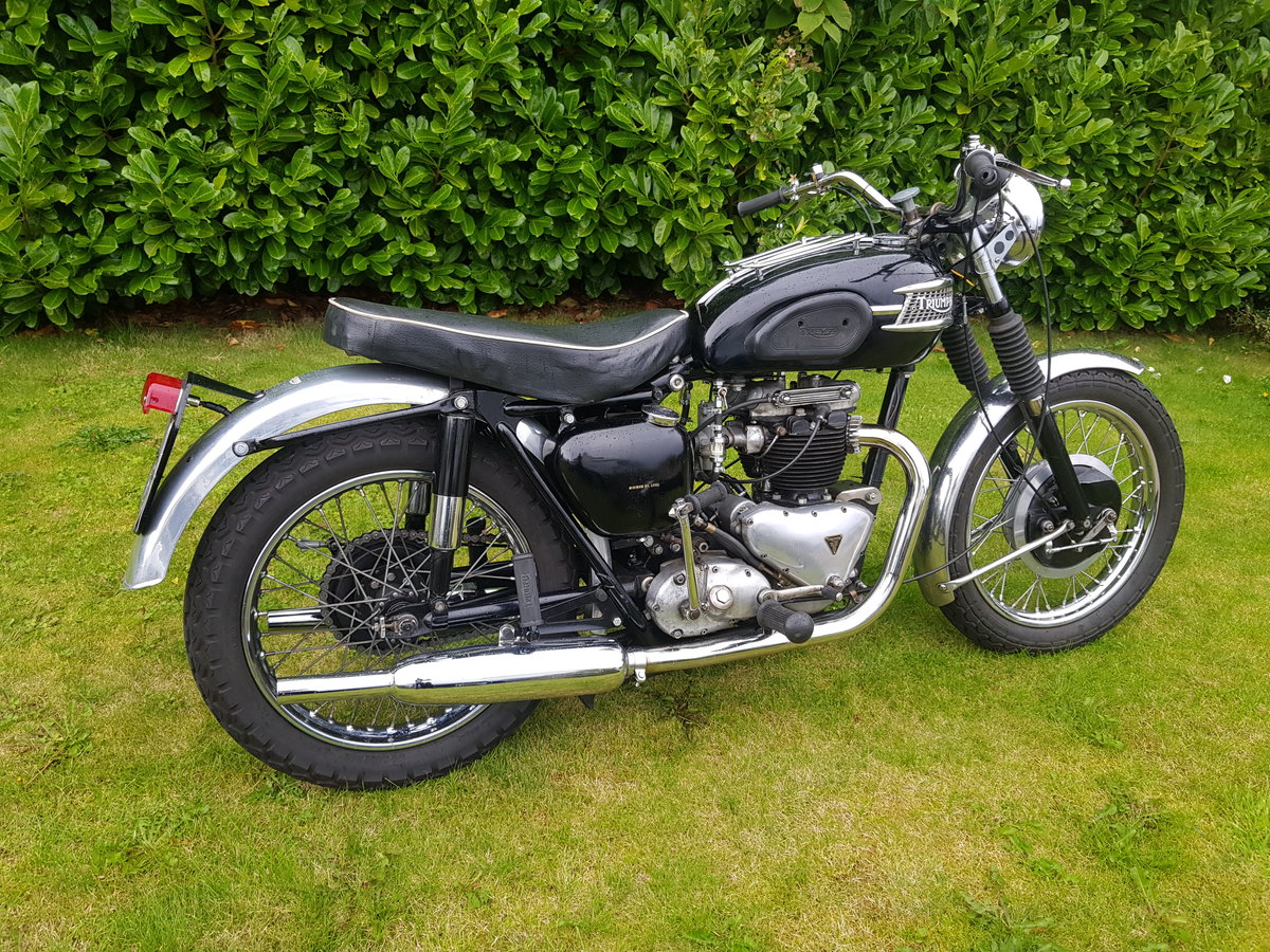 1957 Triumph 6T 650 Thunderbird  For Sale (picture 6 of 6)