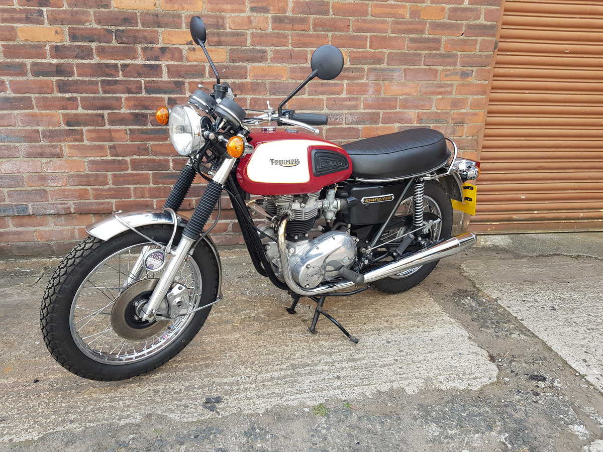 1975 Triumph T120V Bonneville For Sale (picture 1 of 6)
