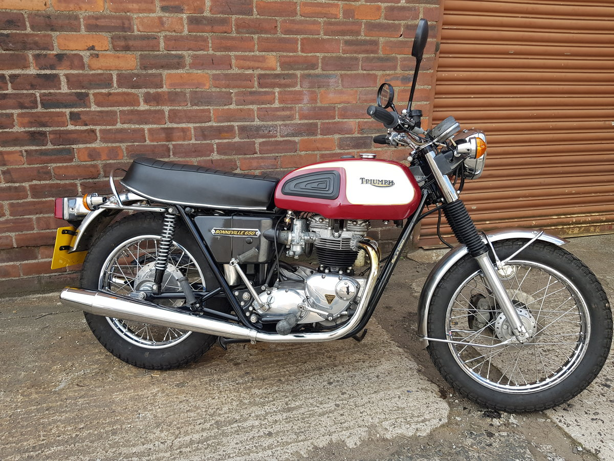1975 Triumph T120V Bonneville For Sale (picture 2 of 6)