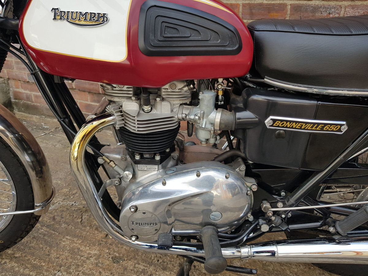 1975 Triumph T120V Bonneville For Sale (picture 4 of 6)
