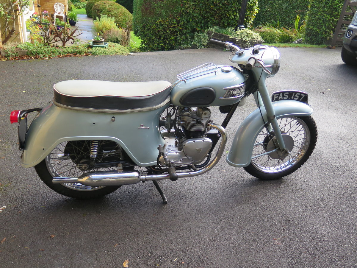 Lot 102 - A 1961 Triumph 21 - 28/10/2020 SOLD by Auction (picture 1 of 6)