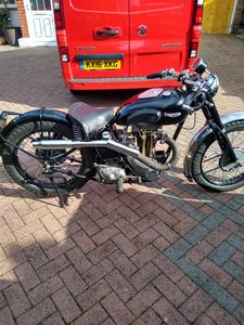 Picture of A 1940 Triumph Tiger 70 250 - 11/11/2020 SOLD by Auction