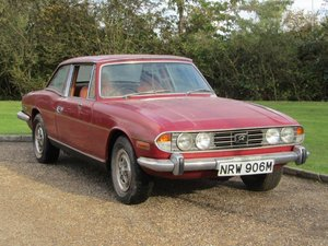 Picture of 1973 Triumph Stag 3.0 Auto at ACA 7th November  For Sale by Auction