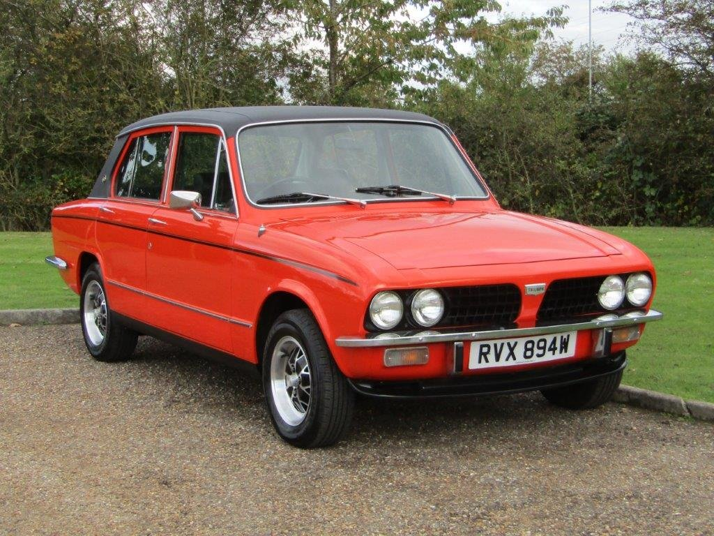 1980 Triumph Dolomite 2.0 Sprint Auto at ACA 7th November  For Sale by Auction (picture 1 of 6)