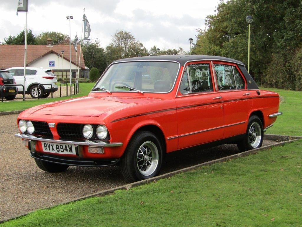 1980 Triumph Dolomite 2.0 Sprint Auto at ACA 7th November  For Sale by Auction (picture 3 of 6)