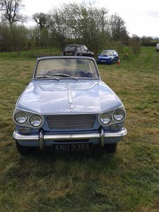 Picture of 1963 Lovely Triumph Vitesse 1600 Three owners