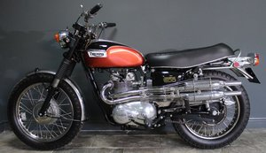 Triumph Trophy T100C Competition 1971 Model SUPERB