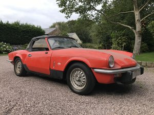 Picture of 1979 Triumph Spitfire 1500 stored 20 years. Restoration project. For Sale