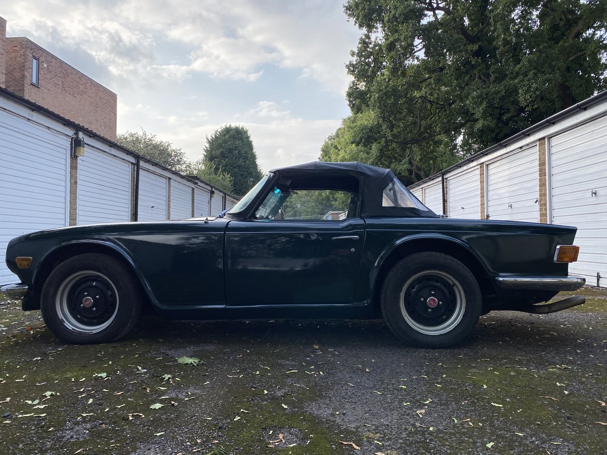 1969 Triumph TR6 150 BHP PI. British Racing Green For Sale (picture 3 of 6)