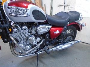 Triumph Thunderbird 900, 4200 Miles