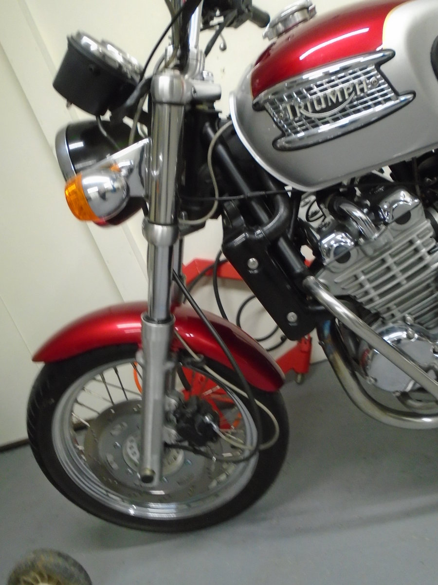 2003 Triumph Thunderbird 900, 4200 Miles For Sale (picture 6 of 6)