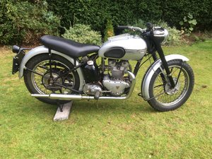 Picture of 1951 TRIUMPH TIGER T100  SPRUNG HUB