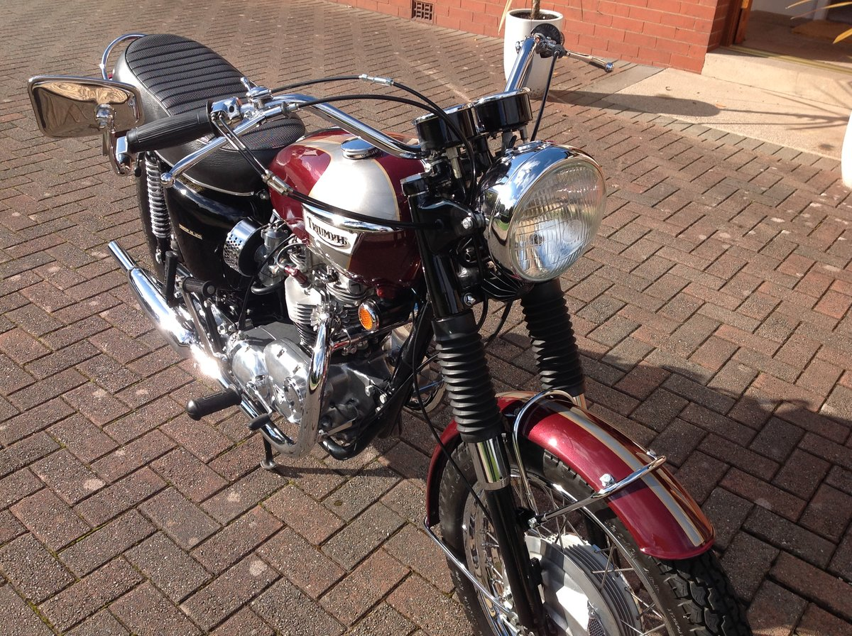 1970 Triumph bonneville T120R stunning example For Sale (picture 2 of 6)