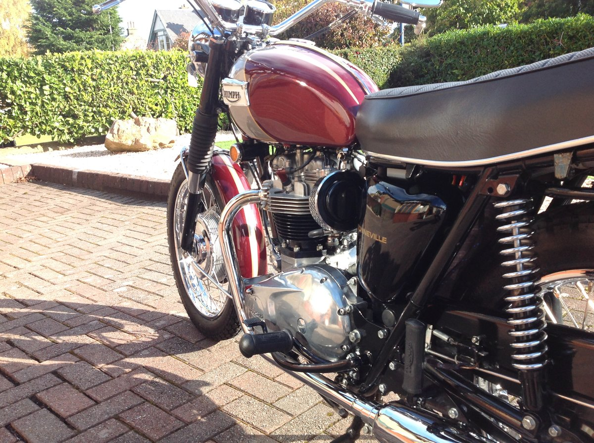 1970 Triumph bonneville T120R stunning example For Sale (picture 4 of 6)