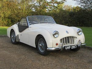 Picture of 1957 Triumph TR3 at ACA 7th November