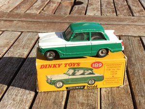 Picture of Dinky triumph herald