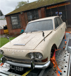Triumph 2000 MK 1 - Genuine Garage Find