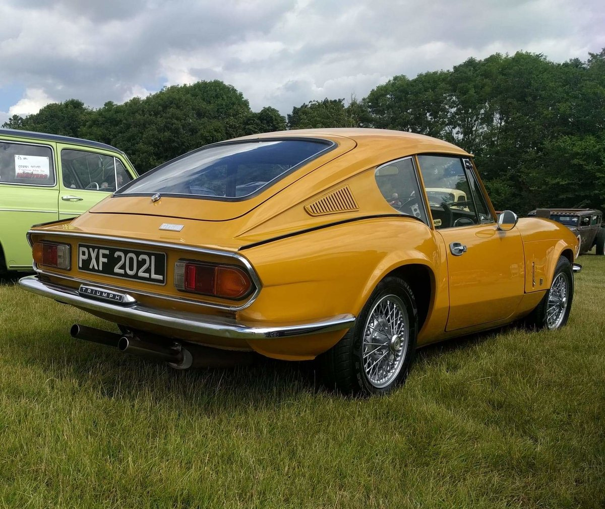 1972 Triumph GT6 Mk3 in great condition For Sale (picture 1 of 6)