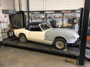 Picture of 1966 Triumph Spitfire Mk 2, stalled project.