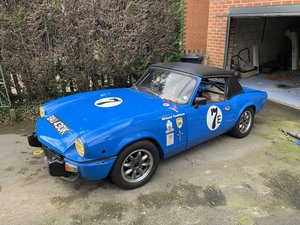 HSCC Road Legal Triumph Spitfire Race Car