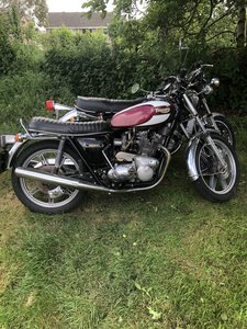 Picture of 1975 Triumph Trident T160.uk machine