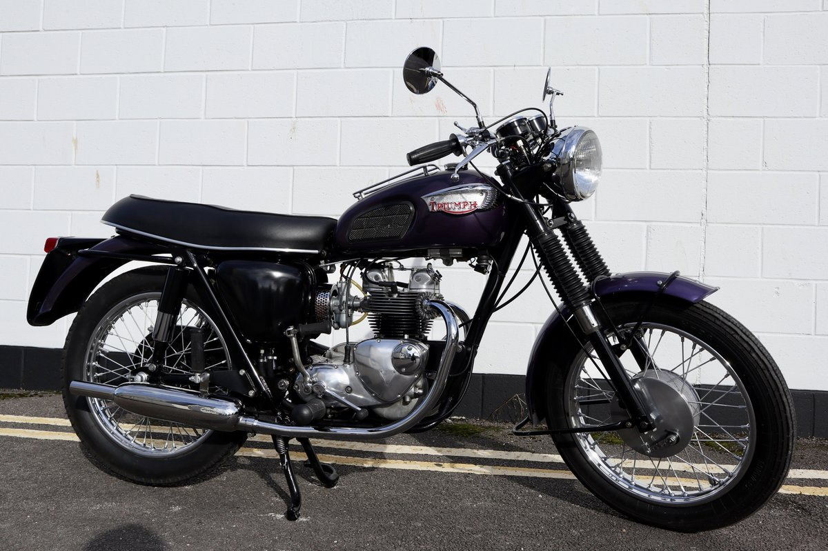 1968 Triumph T100S 500cc - Matching Numbers For Sale (picture 1 of 6)